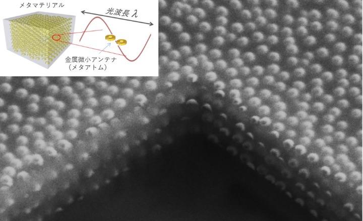 SFチックな人工光材料「光メタマテリアルの開発」